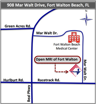 Open MRI of Fort Walton